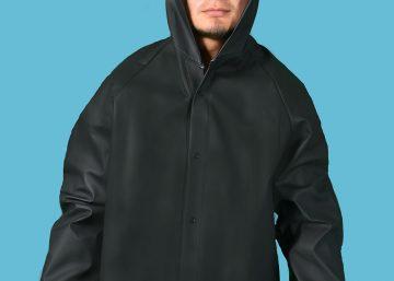 chaqueta impermeable termo sellado pvc cadera