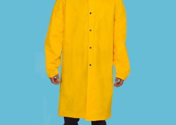 chaqueta impermeable termo sellado pvc tres cuartos