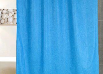 cortina bano texturada