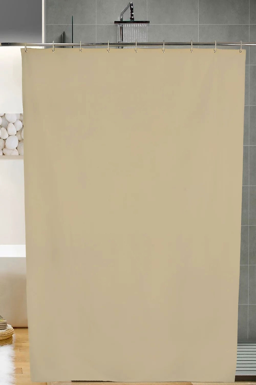 cortina bano unicolor