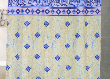 cortinas bano de tela nylon