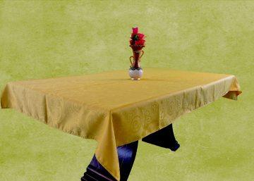 mantel tela troquelada rectangular 8 puestos
