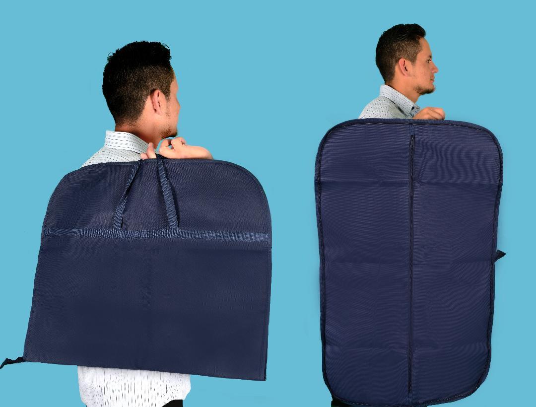 porta traje tipo maletin ecologico 96 cm x 60