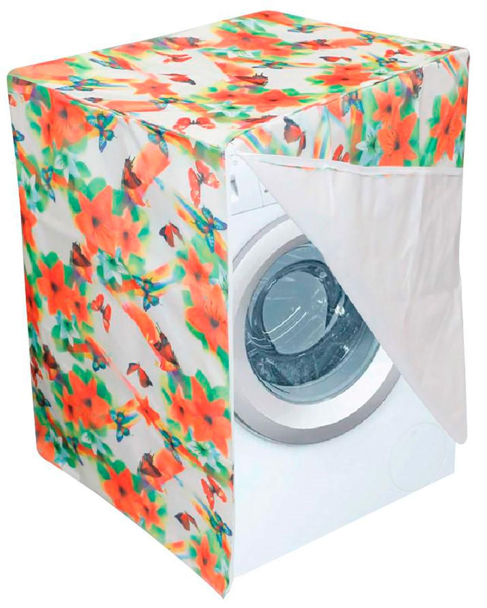 protector para lavadora o secadora estampada puerta circular estandar